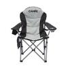 CAMPZ Deluxe vouwstoel grijs/zwart